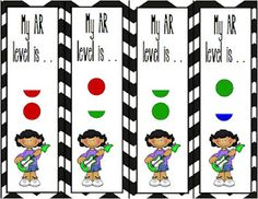 Grade 2 Happenings: Accelerated Reader Poster and Bookmarks Freebie