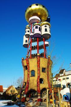 Kuchlbauer-Hundertwasser Tower in Abensberg