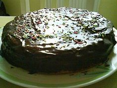 amazing dukan chocolate cake!