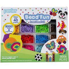 Perler Fused Bead Kit-Bead Fun - bead fun