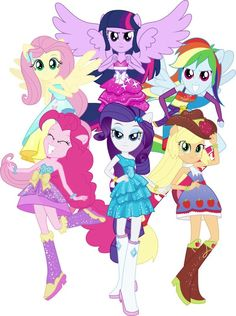 my little pony equestrian girls.the six sages: