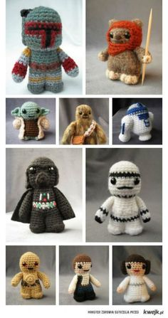 If only I could crochet or knit...which ever one it is ;)