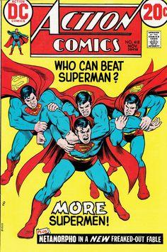 Action Comics #418  Nick Cardy, November 1972