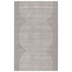 Rizzy Home Transitional Light Dimensions Collection Hand-Tufted Accent Rug