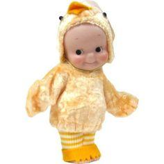 Bisque Kewpie Porcelain Resin Doll (Bird)