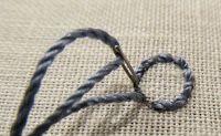 Los adornos Barrocos: INSTRUCCIONES Espiral Trellis Stitch