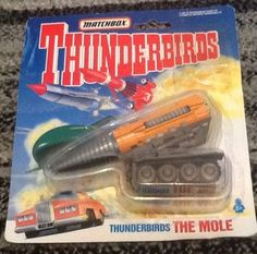 #Matchbox #thunderbirds the mole 1993,  View more on the LINK: 	http://www.zeppy.io/product/gb/2/122064836029/
