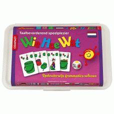 WieHoeWat - spelenderwijs grammatica en zinsbouw oefenen