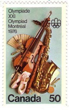 http://burlesquedesign.com/  stamp canada 1976 olympics music violin