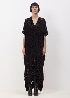 Zero + Maria Cornejo Black Long Elie Dress