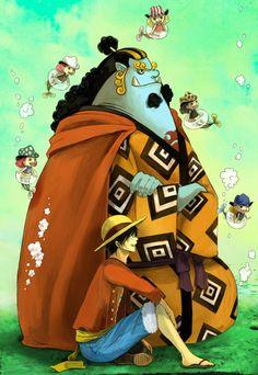 One Piece, Jimbei and Luffy One Piece Anime, One Piece Fanart, Monkey D Luffy, Paladin, One Piece Merchandise, The Pirate King, Nico Robin, Roronoa Zoro, Wattpad