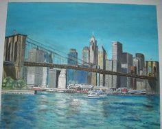 Nueva York,  óleo