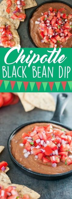 This super healthy bean dip is vegan, gluten-free, and oh-so-tasty! -- Even my toddler was obsessed with it!