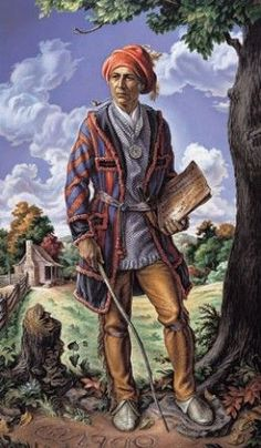 Sequoyah The Cherokee Genius.Sequoyah, the much-honored creator of the Cherokee syllabary, the means by which anyone speaking the Cherokee language could become literate Cherokee Indian Art, Cherokee History, Native American Cherokee, Cherokee Nation, American Indian Art, Native American Tribes, Native American History, Cherokee Indians, American Symbols