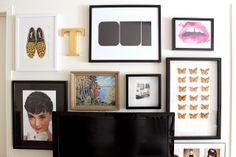 Tiffany Leigh Interior Design: My Girly Gallery Wall