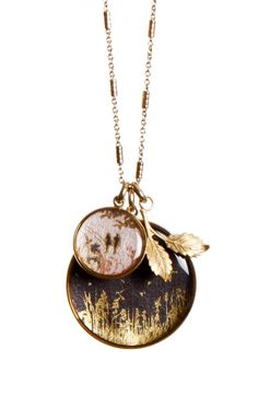 Kirstin Ash necklace - In the Fields Cluster $115