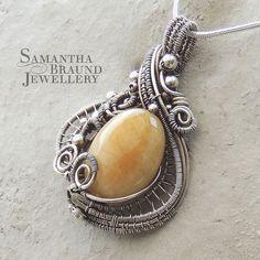 Yellow Aquamarine Mermaid Amulet by Samantha_Braund, via Flickr  http://www.samanthabraundjewellery.com