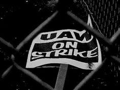 June 5, 1998:  3,400 members of the United Auto Workers walk off the job at a General Motors metal-stamping factory in Flint, MI, over broken promises to upgrade the facility, beginning a strike that will last seven weeks and stall production at GM facilities nationwide.   A week later, 5,800 workers walked out at another plant over GM's outsourcing of labor to non-union plants. Flint Michigan, Workers Union, Broken Promises, United We Stand, Metal Stamping, The Unit, General Motors, Vintage Stuff, June