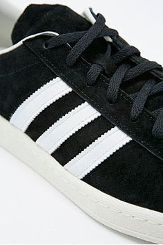 best service 00aeb cd2cf Adidas Campus 80s Trainers in Black Legacy Adidas Campus, Urban Outfitters,  Trainers, Sweatshirt