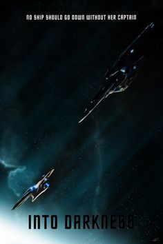 Star Trek Into Darkness (Version 2) - Marko Manev  http://blurppy.com/2013/05/13/exclusive-blurppy-artist-project-2-paramount-j-j-abrams-sci-fi-adventure-star-trek-into-darkness/