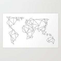 MAPZ Art Print by Heidi Yun