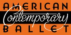 A New Logo for American Contemporary Ballet by Michael Doret