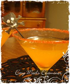 Halloween candy corn cordial recipe and adult Halloween party treats - National easy meals | Examiner.com