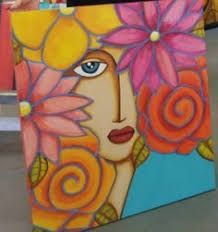 Wal Art, Teen Art, Painting Of Girl, Tile Murals, Canvas Designs, Arte Pop, Mosaic Art, Artist Art, Love Art