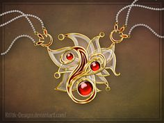 deviantart amulet designs | Amulet for ShiningCookie by Rittik-Designs