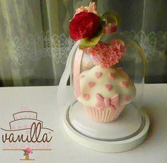 valentine's cup cakes