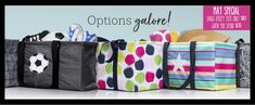 Thirty-One Gifts – May Special! #ThirtyOneGifts #ThirtyOne #Monogramming #Organization #May2018Special #LargeUtilityTote