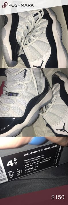 4f502f0a92df Concord 11s hightop size 4.5 y In good condition Wore a couple times  Original box Jordan