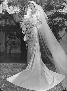 1930's wedding.