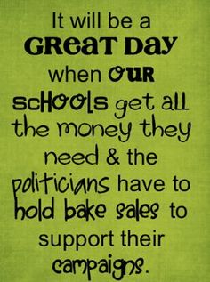 This makes more sense.( If only money could fix our schools. Once again follow the money they do get. M.W. 3/12/16)
