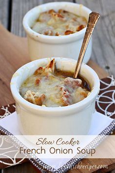 My husband has this weird thing where he doesn't like onions, but he loves French onion soup. I can't quite figure it out, but as a huge fan of onions, I'm happy to sit down to a big bowl of onion ...