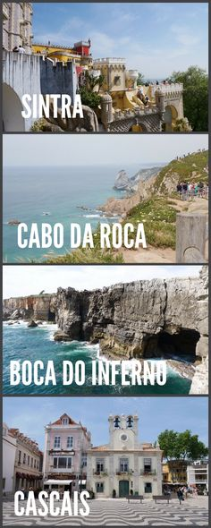 The most popular day trip from Lisbon to Sintra, Cabo da Roca, Boca de Inferno and Cascais all in one day. Hotels In Portugal, Visit Portugal, Portugal Travel, Spain And Portugal, Portugal Trip, Sintra Portugal, Cool Places To Visit, Places To Travel, Places To Go