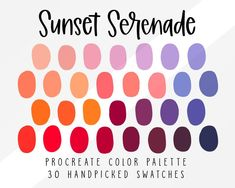Sunset Color Palette, Colour Pallete, Green Color Schemes, Sunset Colors, Color Combos, Color Palettes, Color Pairing, Color Swatches, Pantone Color