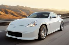 Nissan 370Z....my future car, though I like it better in black