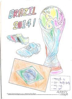 5 year old Kim Voeun Leyvong gets creative in #Cambodia #Brazil2014 #FIFAfun