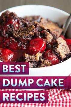 29 super easy dump cake recipes Dump Cake Recipes, Baking Recipes, Dessert Recipes, Dump Cakes, Poke Cakes, No Cook Desserts, Delicious Desserts, Awesome Desserts, Fun Foods To Make