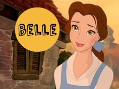 I got: Belle ! What Is Your Disney Princess Name?