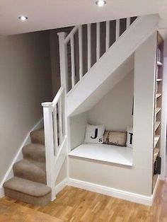 Winder Staircase Made To Measure Understairs Storage measure Staircase Winder Small Staircase, Staircase Storage, House Staircase, Staircase In Living Room, Space Saving Staircase, Loft Storage, Attic Staircase, Spiral Staircases, Staircase Ideas