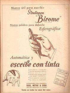 Ah, el birome argentino... :)