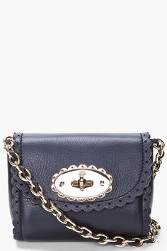 Mulberry scalloped bag