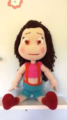 Amigurumi - cute girl