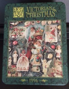 """Victorian Christmas"" ~ a 500 piece jigsaw puzzle in collectible tin from Springbok Puzzles by Hallmark (1996). Third and final in Series."
