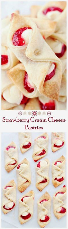 DIY IDEAS: Strawberry Cream Cheese Pastries