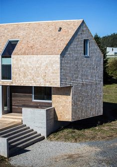 Minimalist Architecture, Amazing Architecture, Residential Architecture, Architecture Design, Bothy, Small Loft, Exterior Siding, Cabins And Cottages, Building A New Home