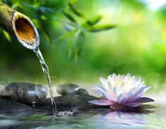 Solfeggio 528 Hz | Water Sounds | Tibetan bowls | OM Mantra ➤ Positive H...
