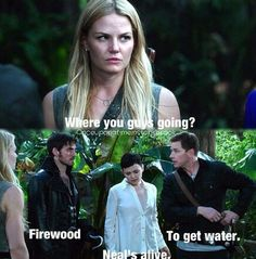 Snow really can't keep a secret (and David and Hook can't read each other's minds).